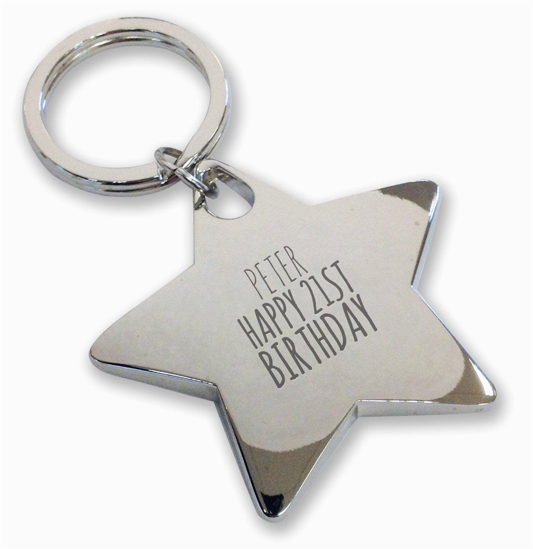 personalised engraved 21st birthday