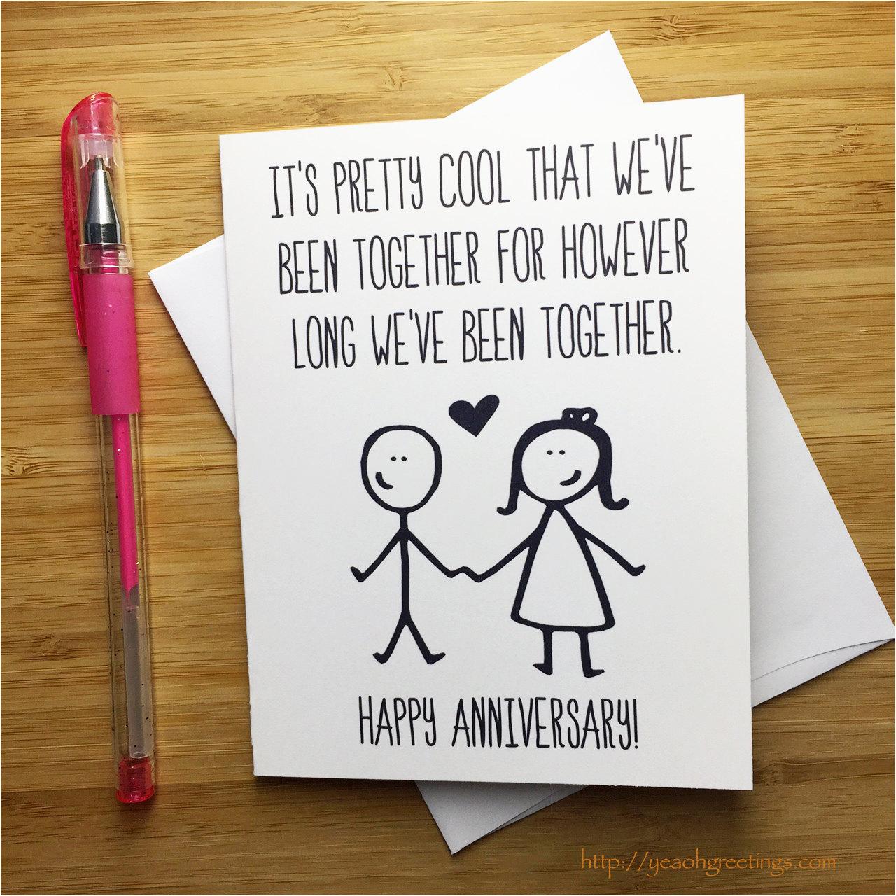 funny anniversary card happy anniversary