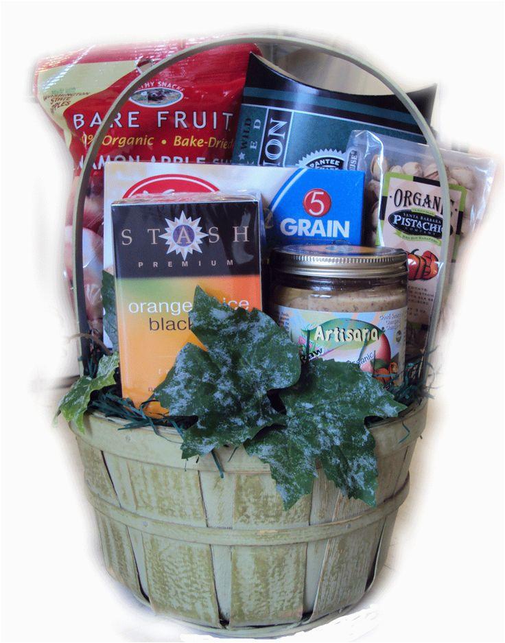 healthy gift basket for birthdays