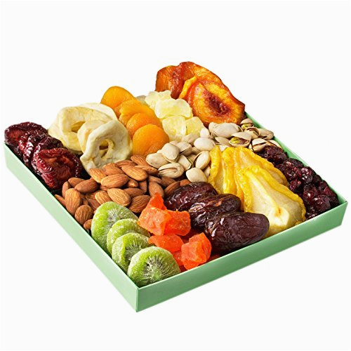 Healthy Birthday Gifts for Him Holiday Nut and Dried Fruit Gift Basket Healthy Gourmet