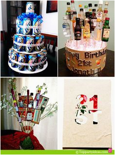 21st birthday decoration ideas for guys