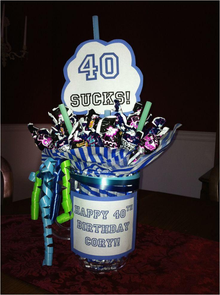 40th birthday joke present ideas