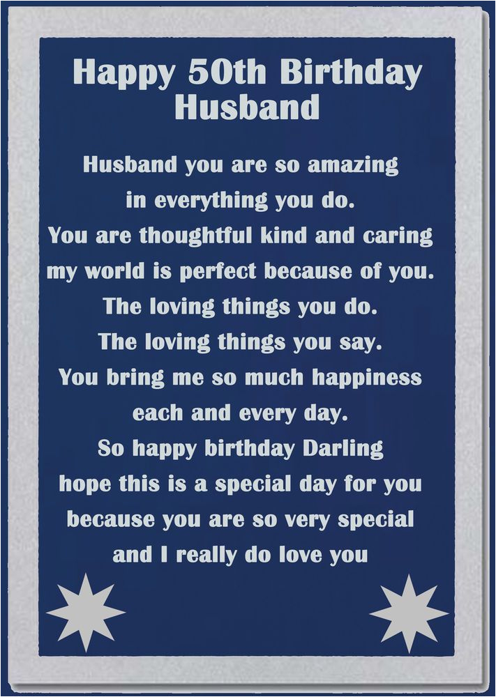 Ideas for 50th Birthday Present for My Husband the 25 Best Birthday Poems for Husband Ideas On Pinterest