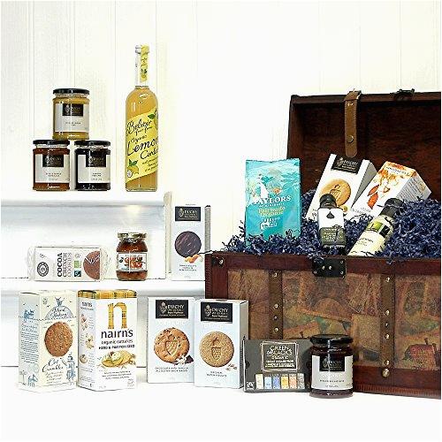 Luxury 21st Birthday Presents for Him Large Luxury Vintage organic Food Chest Hamper Luxury