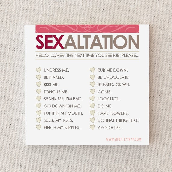 sexy sticky notes naughty adult for