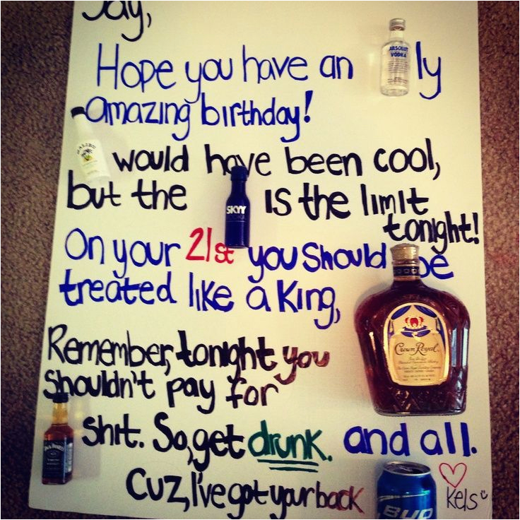 Novelty 21st Birthday Gifts for Him Birthday Card for Him Chris 39 S 21st Birthday Party