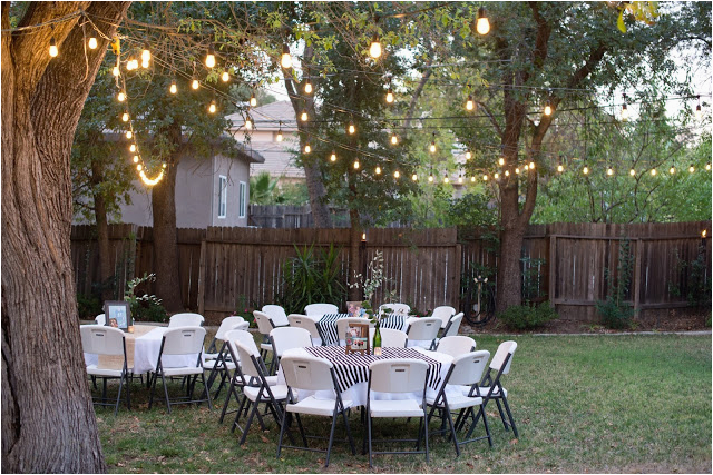 backyard birthday party for guy in your