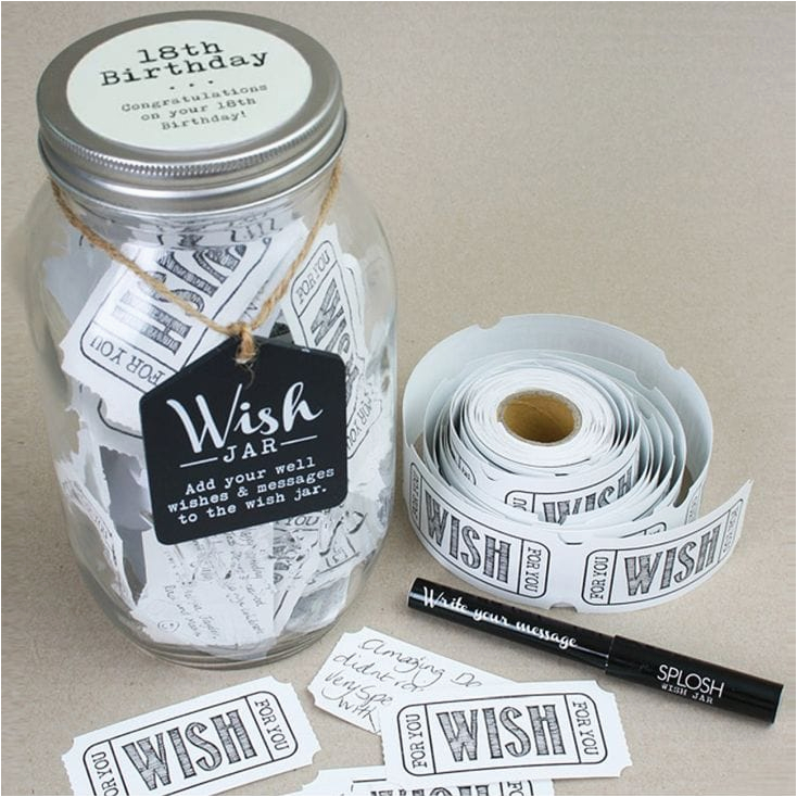 wish jar 18th birthday