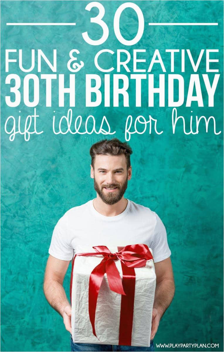 30th birthday gift ideas