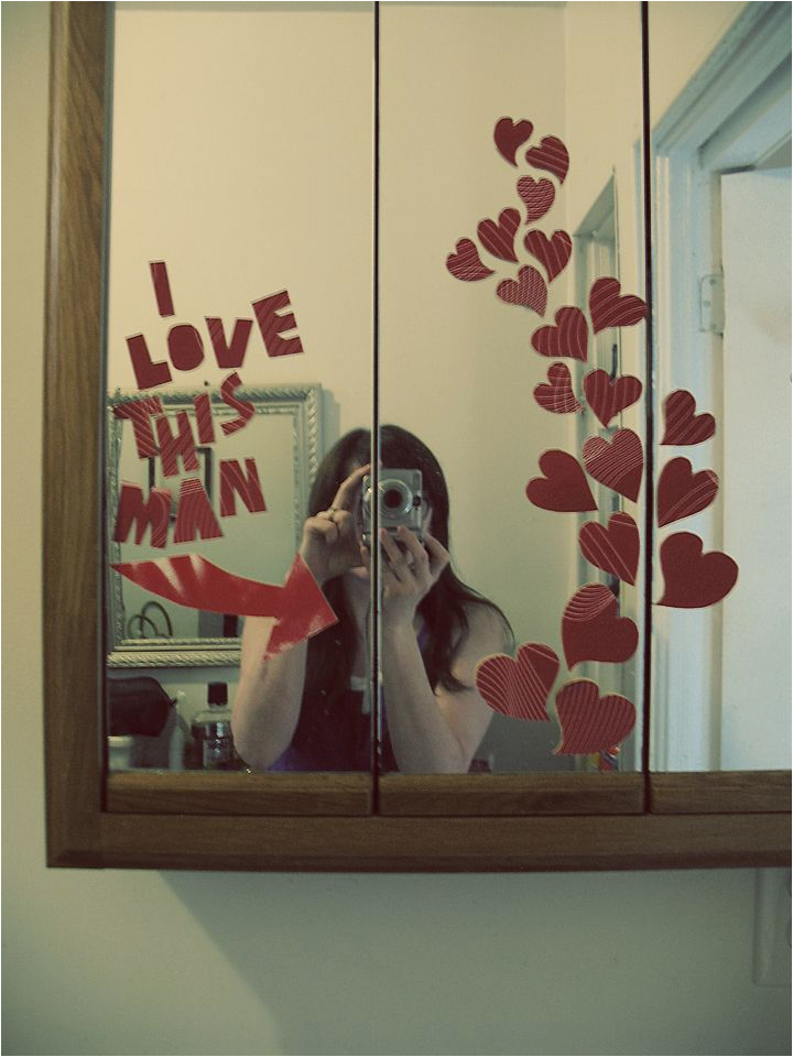 Romantic Birthday Gifts for Husband Ideas Valentine 39 S Day Idea Use Paper and Tape to Make A