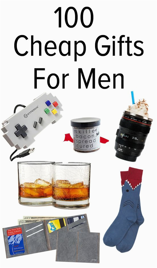 Small Birthday Presents for Him 110 Awesome but Affordable Gifts for Men Affordable