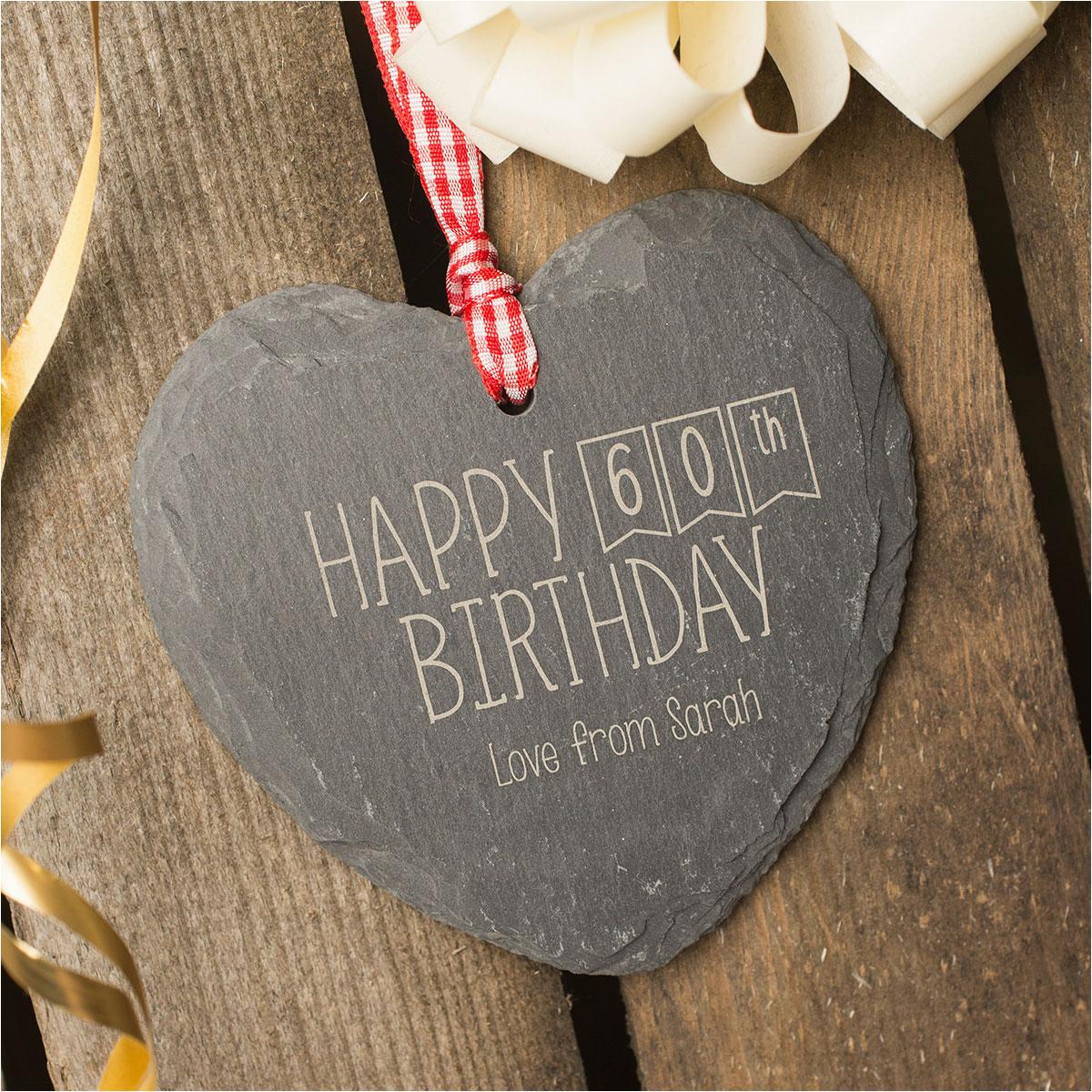 60th birthday gift ideas for mum uk