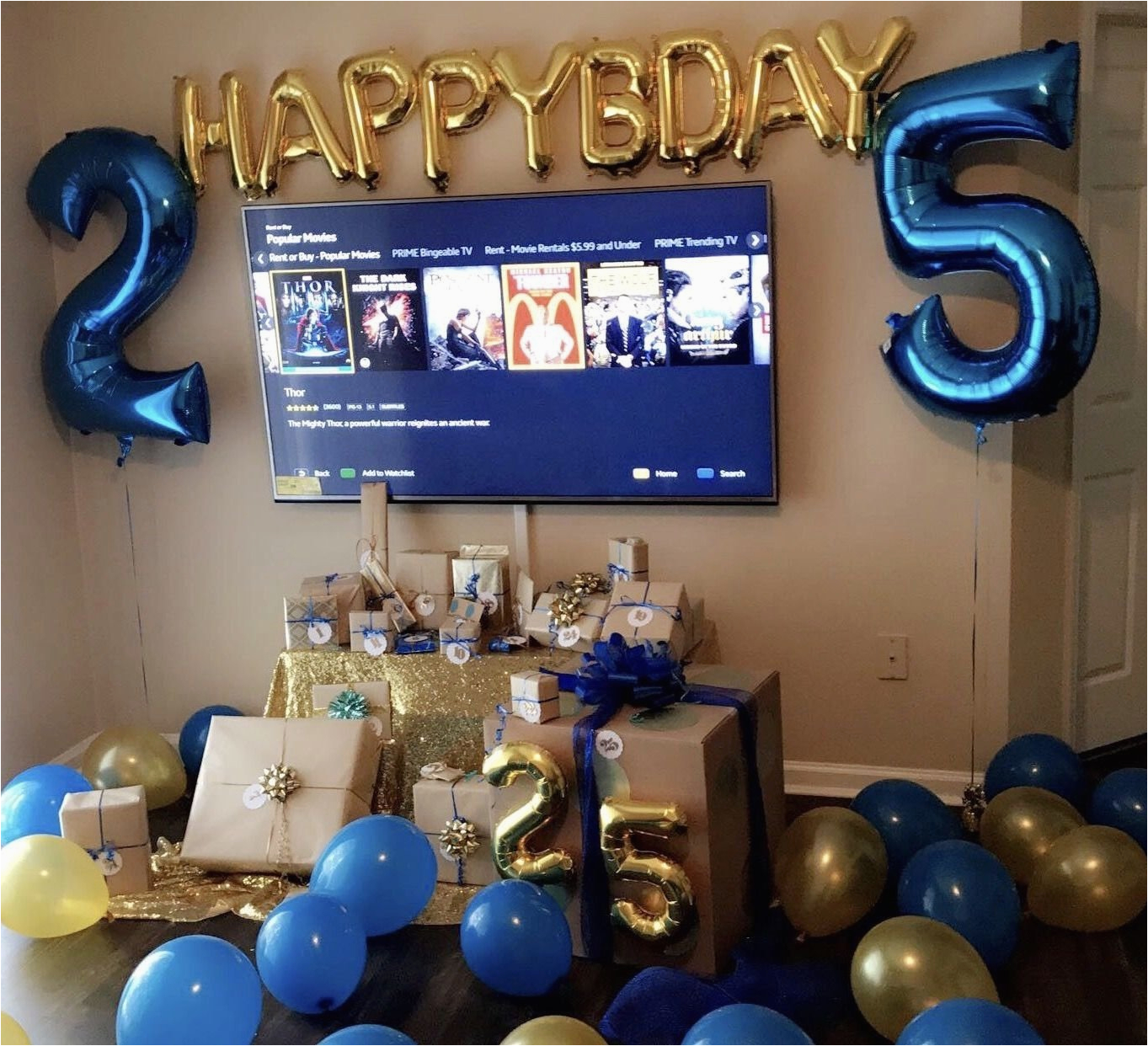 10 most recommended 25th birthday ideas for boyfriend