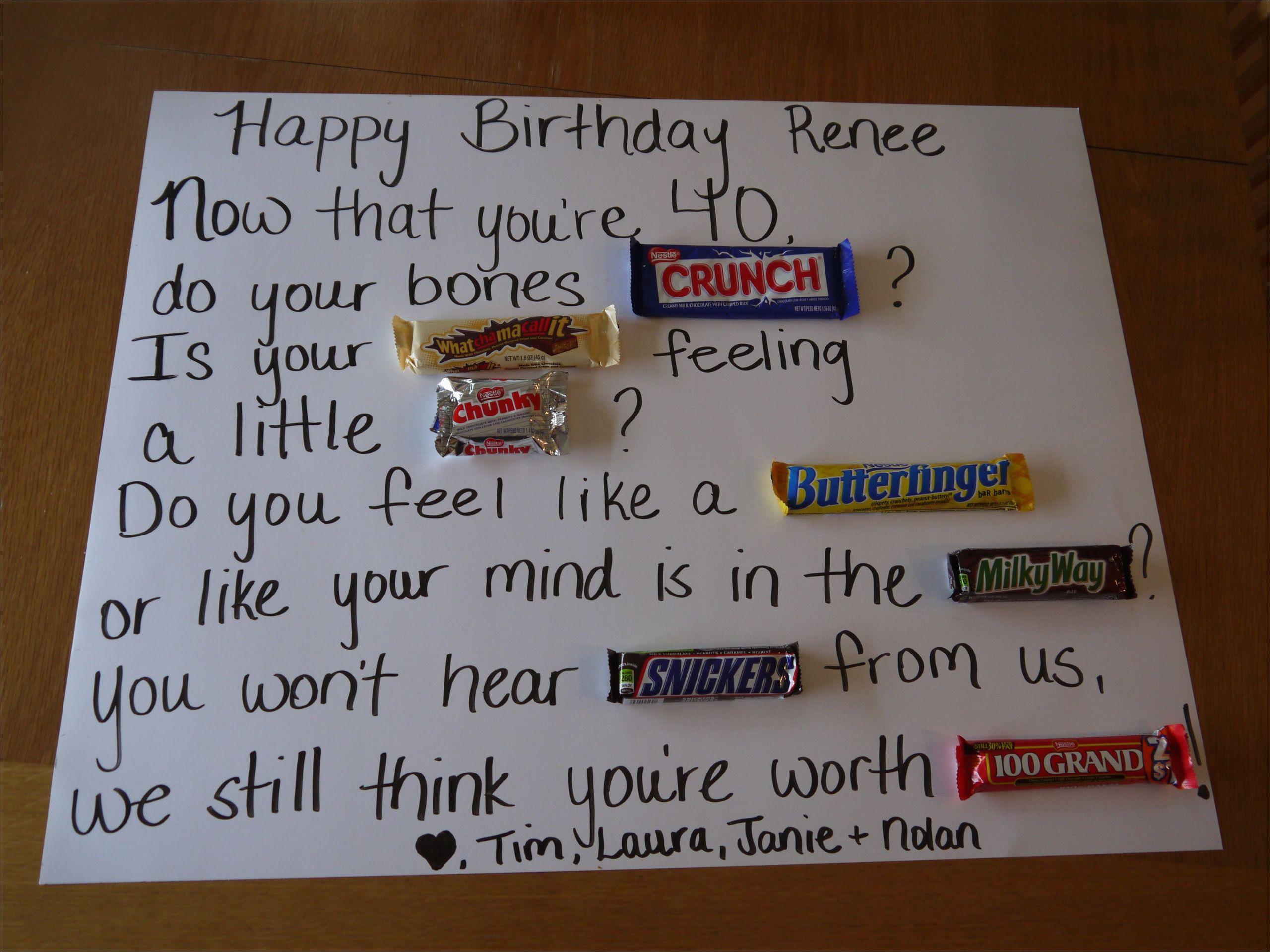 Unusual 40th Birthday Presents for Him 40th Birthday Ideas Party Ideas 40th Birthday Gifts