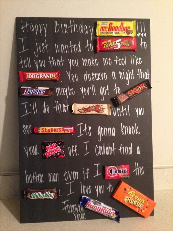 What are the Best Birthday Gifts for Boyfriend Diy Chocolates Card Diy Birthday Cards for Boyfriend