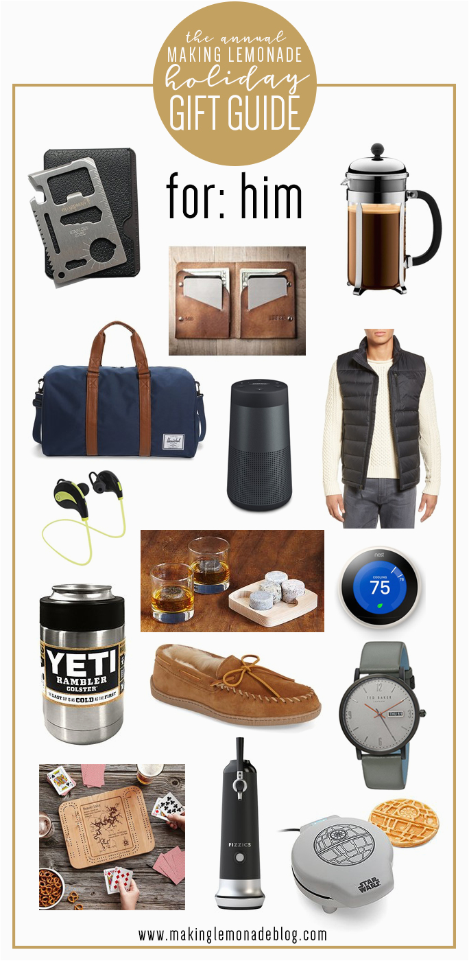 best gifts for him holiday gift guide