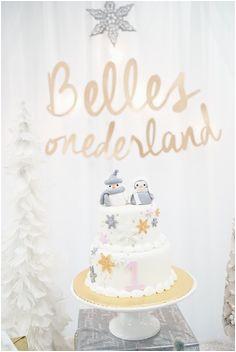 winter onederland birthday ideas