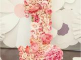 1 Year Baby Birthday Decoration 21 Pink and Gold First Birthday Party Ideas Pretty My