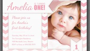 1 Year Old Birthday Invitation Card Sample Free One Year Old Birthday Invitations Template Free