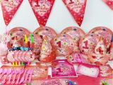 1 Year Old Birthday Party Decorations 2015 New 78pcs Pretty Girl 1 Year Old Kids Boys Birthday