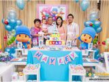 1 Year Old Birthday Party Decorations Baby 39 S One Year Old Birthday Celebration Pocoyo theme