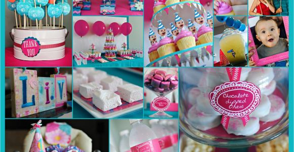 1 Year Old Birthday Party Decorations Elle Belle Creative One Year Old In A Flash A First