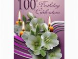 100 Birthday Invitation Cards 100th Birthday Celebration Invitation Cards Zazzle