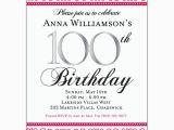 100 Birthday Invitation Wording 100th Birthday Invitation Wording First Birthday Invitations