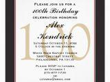 100th Birthday Invitation Wording 100th Centennial Birthday Invitation Zazzle