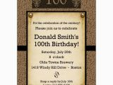 100th Birthday Invitation Wording Snakeskin Antique 100th Birthday Invitations Paperstyle