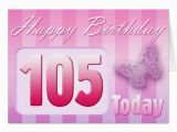 105th Birthday Card Mothers Day for Aunt Cards Invitations Zazzle Co Uk