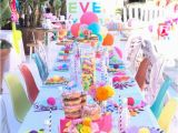 10th Birthday Girl Ideas Kara 39 S Party Ideas Colorful Modern 10th Birthday Party