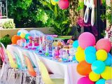 10th Birthday Girl Party Ideas Kara 39 S Party Ideas Colorful Modern 10th Birthday Party