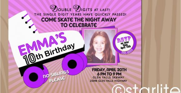 10th Birthday Invitation Quotes 10th Birthday Invitation Wording A Birthday Cake