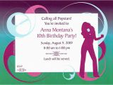 10th Birthday Invitation Quotes 10th Birthday Party Invitations Cimvitation