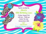 10th Birthday Party Invitation Wording Ideas 10th Birthday Party Invitations Cimvitation