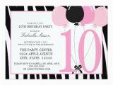 10th Birthday Party Invitation Wording Ideas 61 Best 10th Birthday Party Invitations Images On