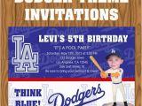 12 Los Angeles Lakers Birthday Ticket Invitations Invitations Items Similar to Los Angeles Dodgers Baseball theme