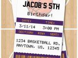 12 Los Angeles Lakers Birthday Ticket Invitations Invitations Lakers Birthday Clipart Collection