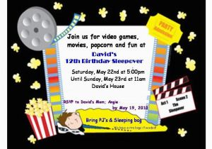 12 Year Old Birthday Party Invitations Oxyline 07d6ab4fbe37