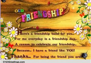 123 Free Birthday Cards For Friend Our Friendship Friends Forever Ecards