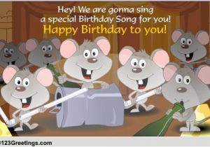 123 Free Birthday Greeting Cards With Music A Special Song Songs Ecards