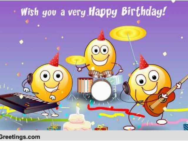 123 Free Birthday Greeting Cards With Music The Happy Song