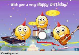 123 Singing Birthday Cards Songs Free Ecards Greeting