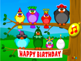 123 Singing Birthday Cards Singing Birds Birthday Send Free Ecards From 123cards Com