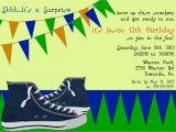 12th Birthday Invitation Wording 13th Birthday Party Invitation Ideas Bagvania Free