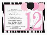 12th Birthday Invitation Wording 17 Best Images About 12th Birthday Party Invitations On