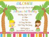 12th Birthday Invitation Wording Luau Party Invitations Wording Party Xyz