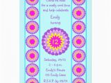 12th Birthday Invitation Wording Personalized 12 Birthday Party Invitations