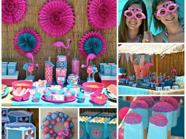 13 Year Old Birthday Party Decorations Pool Party Ideas For 13 Year